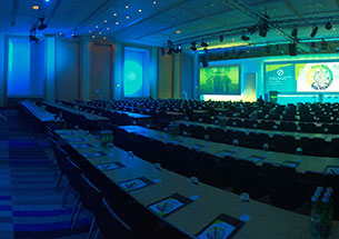 A photograph of a conference where Graphic Recording will take place